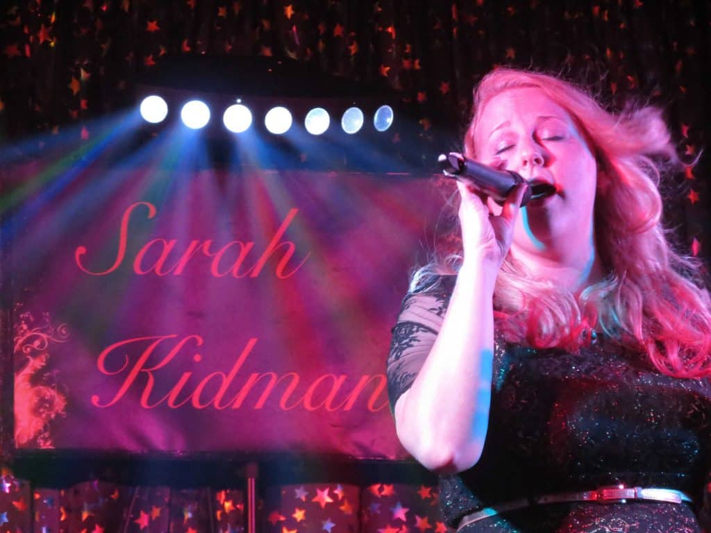 Sarah Kidman female Vocalist
