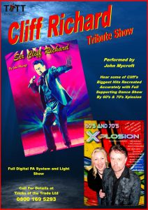 Sir Cliff Richard Tribute Show