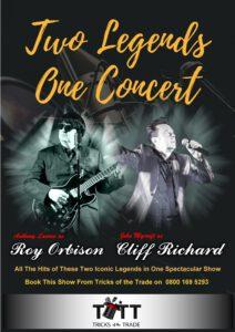Two Legends One Concert Roy Orbison & Cliff Richard