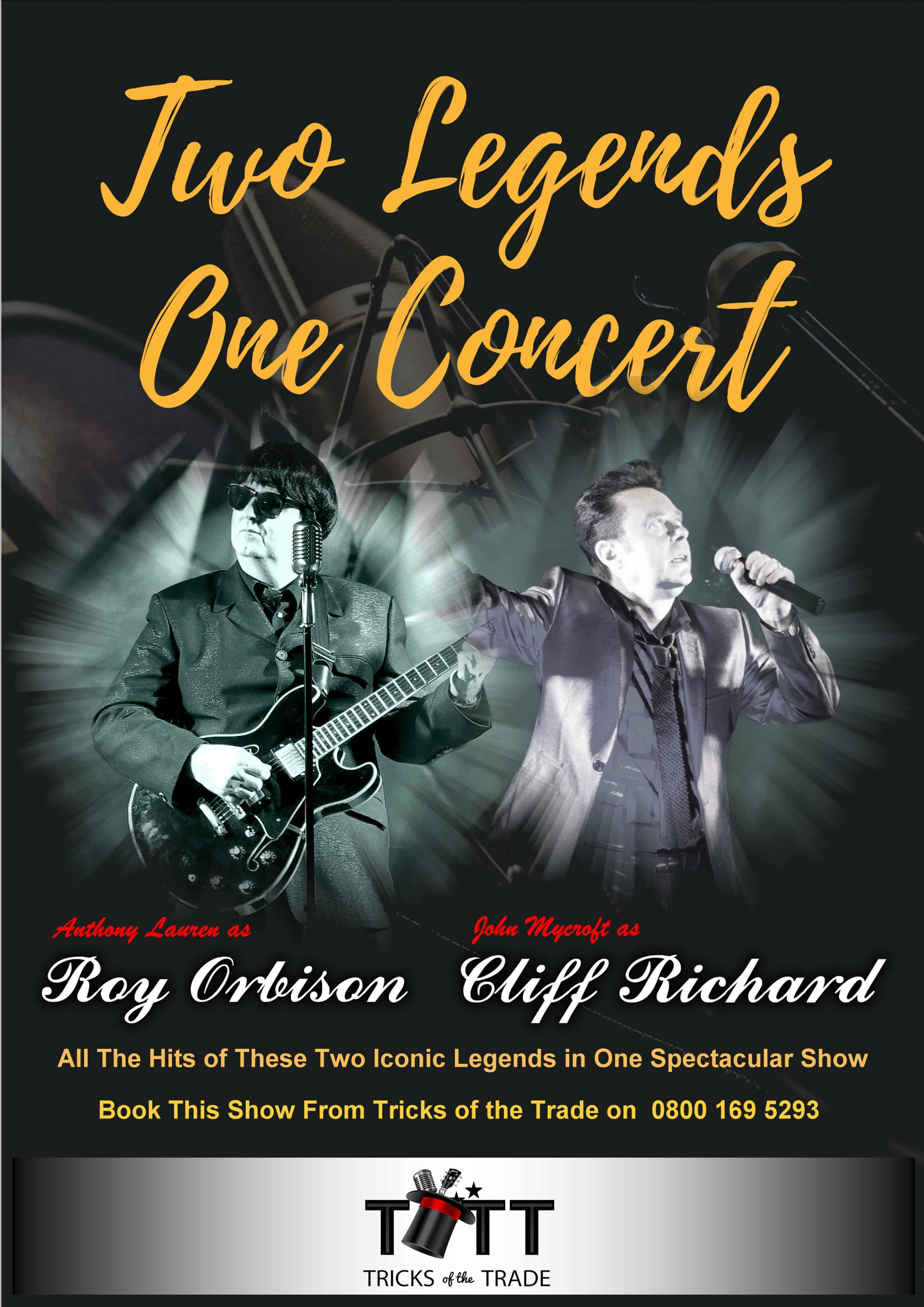 Roy Orbison & Cliff Richard Concert